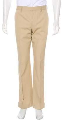 Prada Sport Zip Accented Flat Front Pants