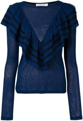 See by Chloe frill detail sweater