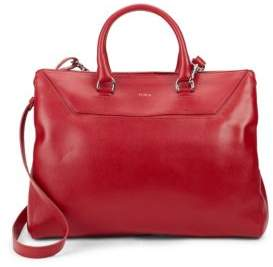 Furla Business Travel Leather Tote