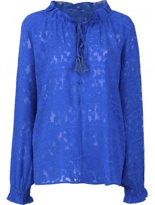 Saloni 'Ali' blouse $325 thestylecure.com