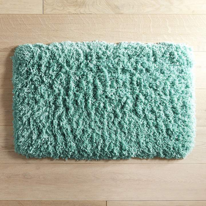Cloud Step Memory Foam Turquoise 27x45 Bath Rug