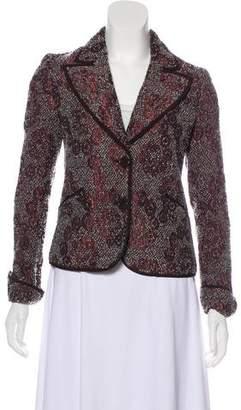 Etro Metallic Tweed Jacket w/ Tags