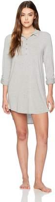 PJ Salvage Women's Modal Basics Nightshirt Sleepwear, -, S