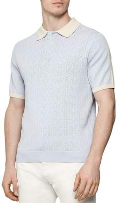 Reiss Newton Colorblocked Regular Fit Polo Shirt