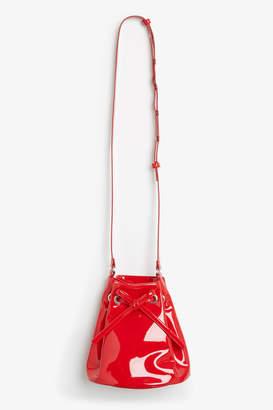 Monki Drawstring bucket bag