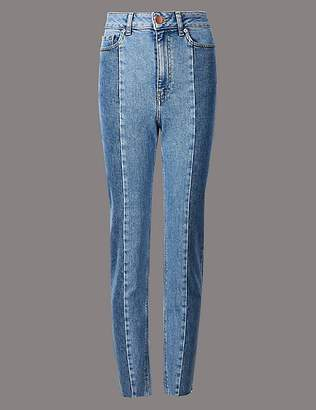 Marks and Spencer Seamed Straight Leg Jeans