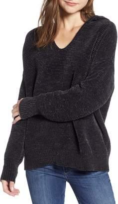 Splendid Auroa Knit Hooded Pullover