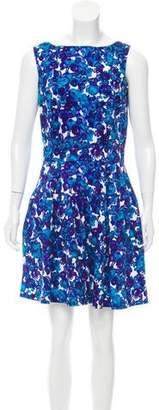 Thakoon Sleeveless Floral Mini Dress