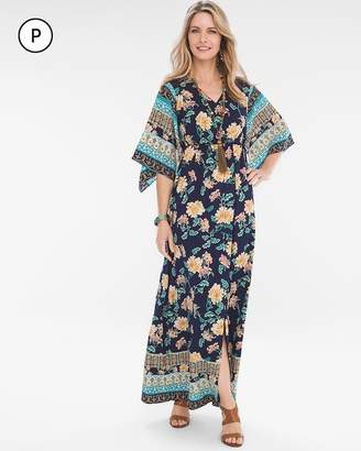 c0f15f1c01 Chico s Chicos Petite Floral Kimono Maxi Dress