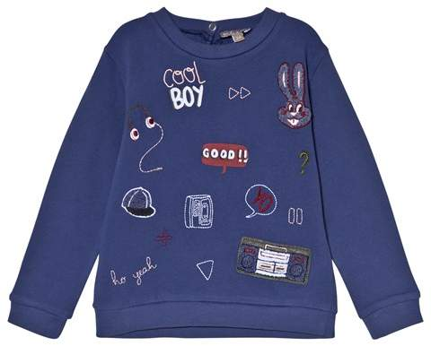 Blue Badges Sweater
