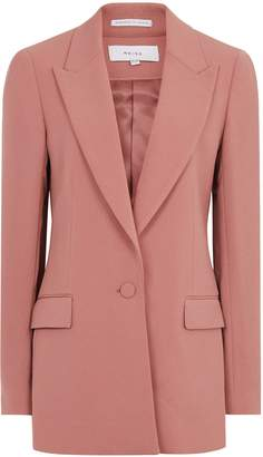 Reiss Roza Jacket - Single-breasted Blazer in Rose Pink