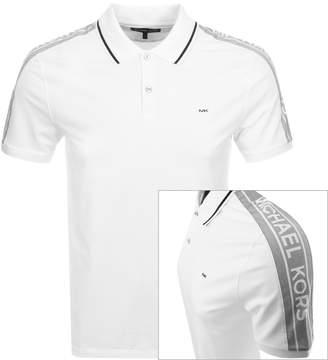 b5e5df74f Michael Kors White Polo Shirts For Men - ShopStyle Australia