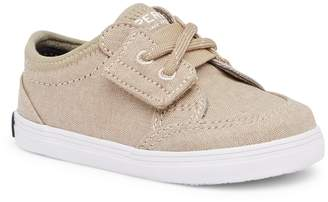 Sperry Deckfin Crib Boat Shoe (Baby)