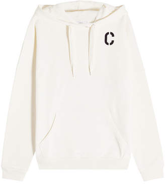 Closed Printed Cotton Hoody