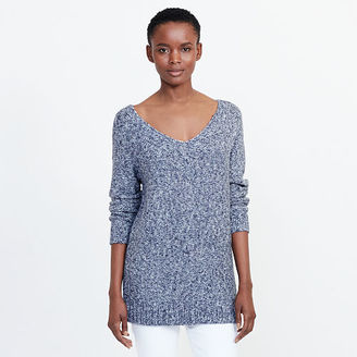 Ralph Lauren Marled V-Neck Sweater $99.50 thestylecure.com