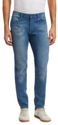Givenchy Rico Slim-Fit Faded Jeans