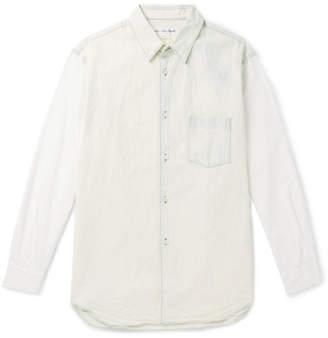 Comme des Garcons Bleached Denim Shirt