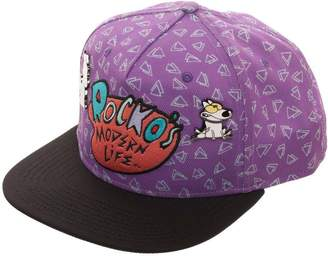 f47e230c6acf96 at Amazon Canada · rocko's modern life Embroidered Logo Snapback Hat