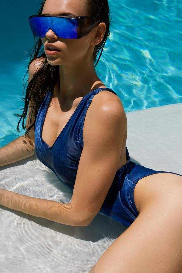 nastygal Deep End Swimsuit