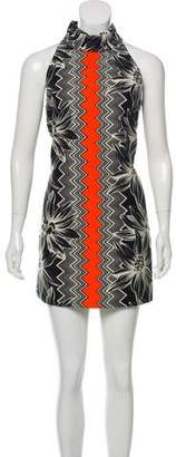Milly Brocade Shift Dress