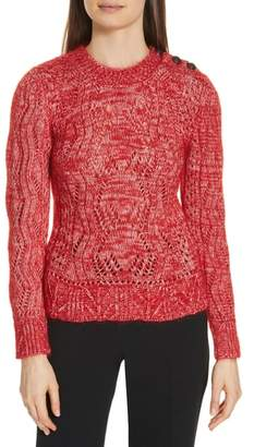BA&SH Numa Cotton & Silk Blend Sweater