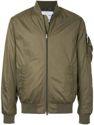 Yoshio Kubo Yoshiokubo Dry Leaf reversible bomber jacket