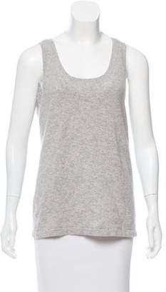 Michael Kors Sleeveless Cashmere Top