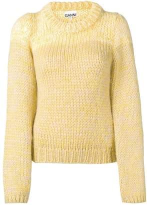 Ganni chunky knit jumper