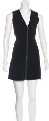 Rag & Bone Sleeveless Silk-Accented Dress