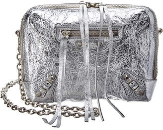 Balenciaga Reporter Xs Chain Strap Leather Shoulder Bag