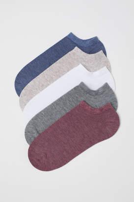 H&M 5-pack Ankle Socks - Red