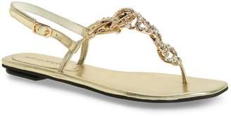 Jeffrey Campbell New Chain Crystal Embellished Sandal