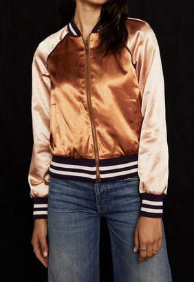 Mother The Letterman Zip Jacket