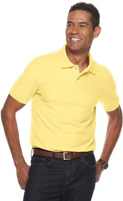 Croft & Barrow Men's Slim-Fit Easy-Care Pique Polo