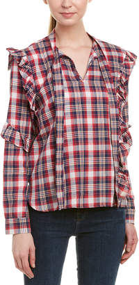 Blank NYC Frill Blouse