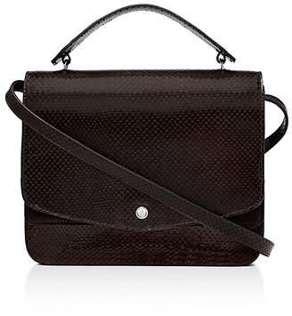 Elizabeth and James Eloise Embossed Leather Shoulder Bag