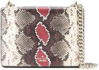 Kate Spade snakeskin effect shoulder bag