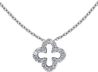 DRAJÃE London - Quatrefoil Diamond Necklace