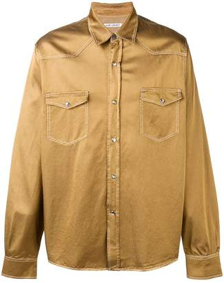Our Legacy chest pocket shirt