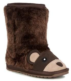 Emu Little Creatures - Brown Bear Wool Boot