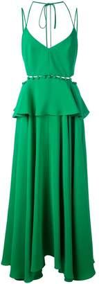 Prabal Gurung buttoned peplum dress