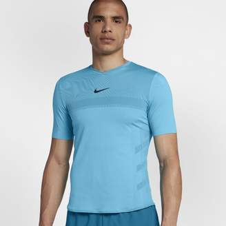 Nike NikeCourt AeroReact Rafa Men's Short-Sleeve Tennis Top