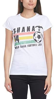 Football Fan Women's Mexico Brush Regular Fit Short Sleeve T-Shirt Clearance Prices Visa Payment Sale Online Discount Big Discount b2A8cRJfN