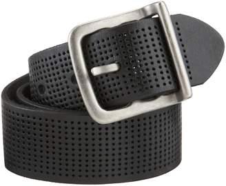 Bill Adler Men's Wide Perforated Belt