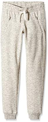 New Look 915 Girl's Marl Zip Pocket Sports Trousers,(Manufacturer Size:9)