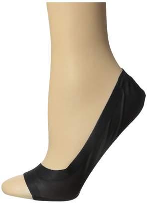 Hue Perfect Edge Peep Toe Liner 3-Pack Women's Crew Cut Socks Shoes