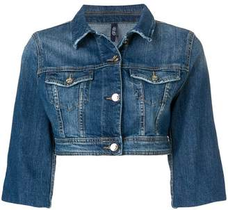 Liu Jo cropped denim jacket