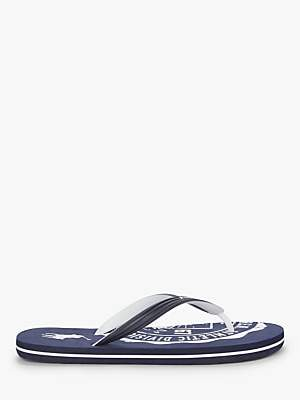 5723604e09b1 Ralph Lauren Polo Athletic Print Flip Flops