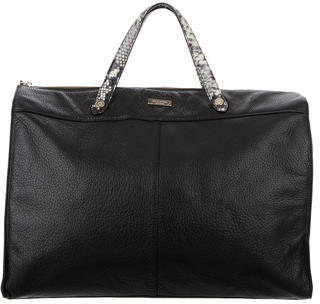 Kate Spade New York Leather Weekender $245 thestylecure.com