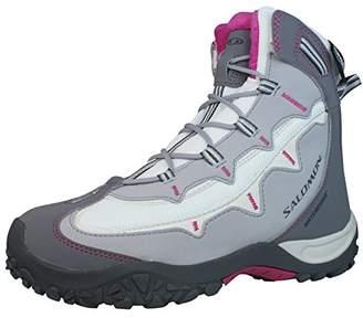 Salomon Stenson TS WP Womens Hiking Boots / Shoes - White & Grey - SIZE US